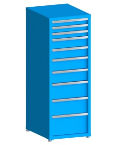 """200# Capacity Drawer Cabinet, 3"""",3"""",3"""",5"""",5"""",6"""",6"""",8"""",8"""",10"""" drawers, 61"""" H x 22"""" W x 28"""" D"""