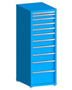 "100# Capacity Drawer Cabinet, 2"",3"",4"",4"",4"",5"",5"",6"",6"",8"",10"" drawers, 61"" H x 22"" W x 28"" D"
