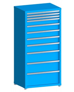 "100# Capacity Drawer Cabinet, 2"",2"",2"",4"",5"",5"",5"",6"",8"",8"",10"" drawers, 61"" H x 30"" W x 21"" D"