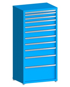 "100# Capacity Drawer Cabinet, 2"",3"",3"",4"",4"",5"",5"",5"",6"",8"",12"" drawers, 61"" H x 30"" W x 21"" D"