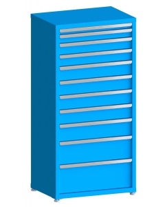 "100# Capacity Drawer Cabinet, 2"",3"",4"",4"",5"",5"",5"",5"",6"",8"",10"" drawers, 61"" H x 30"" W x 21"" D"