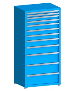 "100# Capacity Drawer Cabinet, 2"",2"",3"",3"",4"",4"",4"",5"",6"",8"",8"",8"" drawers, 61"" H x 30"" W x 21"" D"