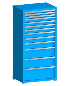 "100# Capacity Drawer Cabinet, 2"",2"",2"",3"",3"",3"",3"",4"",4"",5"",8"",8"",10"" drawers, 61"" H x 30"" W x 21"" D"