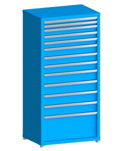 "100# Capacity Drawer Cabinet, 2"",2"",3"",3"",3"",4"",4"",4"",5"",5"",5"",5"",12"" drawers, 61"" H x 30"" W x 21"" D"