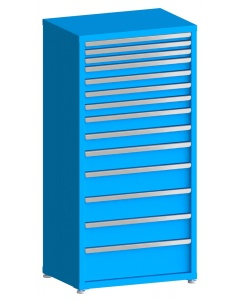"100# Capacity Drawer Cabinet, 2"",2"",2"",3"",3"",3"",3"",4"",4"",5"",6"",6"",6"",8"" drawers, 61"" H x 30"" W x 21"" D"
