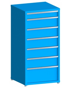 """200# Capacity Drawer Cabinet, 5"""",8"""",8"""",8"""",8"""",8"""",12"""" drawers, 61"""" H x 30"""" W x 28"""" D"""