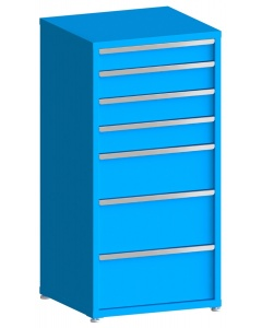 "100# Capacity Drawer Cabinet, 5"",6"",6"",6"",10"",12"",12"" drawers, 61"" H x 30"" W x 28"" D"