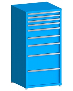 "100# Capacity Drawer Cabinet, 3"",3"",3"",4"",6"",6"",8"",12"",12"" drawers, 61"" H x 30"" W x 28"" D"