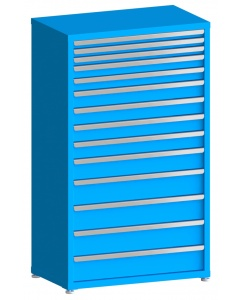 "100# Capacity Drawer Cabinet, 2"",2"",2"",3"",3"",4"",4"",4"",4"",5"",6"",6"",6"",6"" drawers, 61"" H x 36"" W x 21"" D"