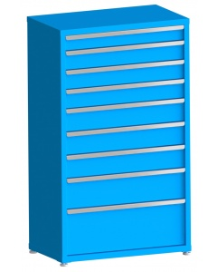 """200# Capacity Drawer Cabinet, 4"""",5"""",5"""",5"""",6"""",6"""",6"""",8"""",12"""" drawers, 61"""" H x 36"""" W x 21"""" D"""