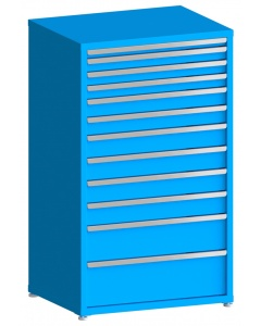 "100# Capacity Drawer Cabinet, 2"",3"",3"",3"",4"",4"",5"",5"",5"",5"",8"",10"" drawers, 61"" H x 36"" W x 28"" D"