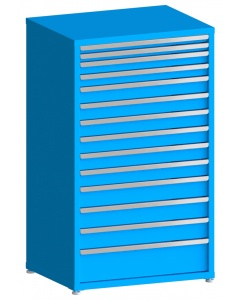 "100# Capacity Drawer Cabinet, 2"",2"",3"",3"",4"",4"",4"",4"",4"",4"",5"",5"",5"",8"" drawers, 61"" H x 36"" W x 28"" D"