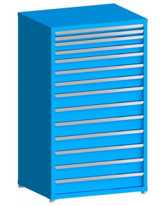 "100# Capacity Drawer Cabinet, 2"",2"",3"",3"",4"",4"",4"",5"",5"",5"",5"",5"",5"",5"" drawers, 61"" H x 36"" W x 28"" D"
