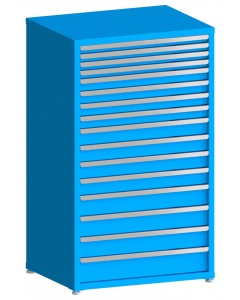 "100# Capacity Drawer Cabinet, 2"",2"",2"",2"",3"",3"",3"",3"",4"",4"",4"",4"",5"",5"",5"",6"" drawers, 61"" H x 36"" W x 28"" D"
