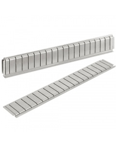 Stainless Steel Partitions for Cabinet Drawers.