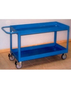Pull Cart with Bin Top