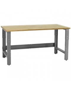 """Roosevelt Series with 1 3/4"""" Thick Top Solid Maple Lacquered Butcher Block"""