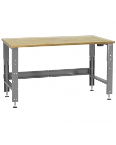 Roosevelt Series - Electric Hydraulic Lift, 1-3/4 Thick Urethane Protective Coating Solid Maple Hardwood Top