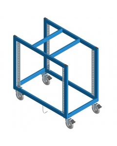 """Stencil Carts, Welded, Staging Station Style 22"""" D x 37"""" W x 38"""" H"""