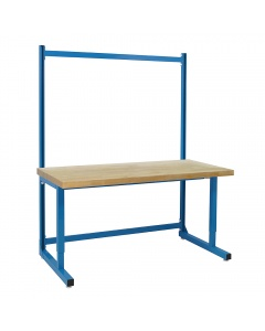 """Madison Series with 1-3/4"""" Top Urethane Protective Coating 100% Solid Maple Hardwood Top, Premium - 78"""" Height."""