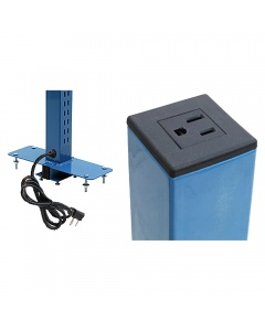 Double Sided Slots - Uprights Set of Two with Power Plug