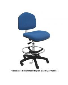 "Washington Fabric ESD Tall Chairs 10"" Stroke"