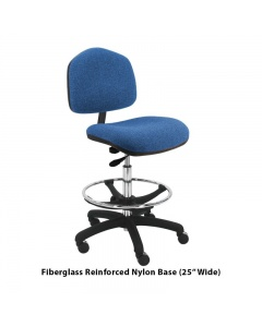 "Washington Fabric Tall Chairs 10"" Stroke"